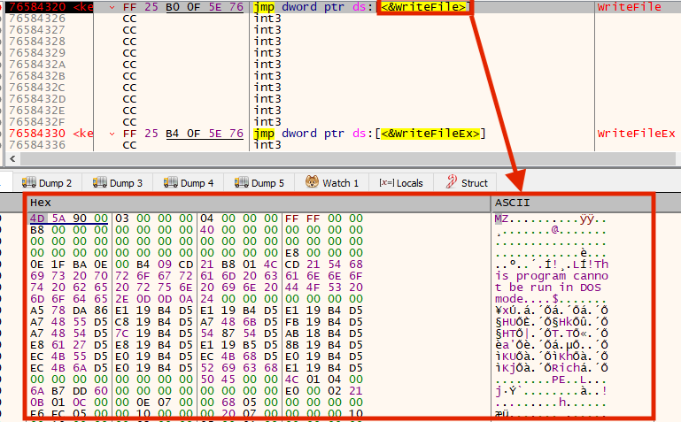 """""""Agent.exe"""" writing REvil packed payload """"mpsvc.dll"""" to disk"""